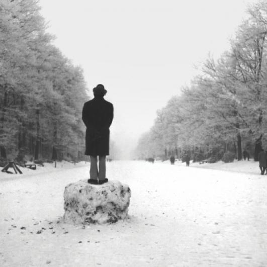 Jan Jedlička, Felipe Serano ve Hvězdě, 1968, fotografie, 11,5×11,5 cm