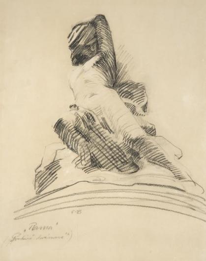 František Bílek, Rama (z cyklu Cesta), 1903