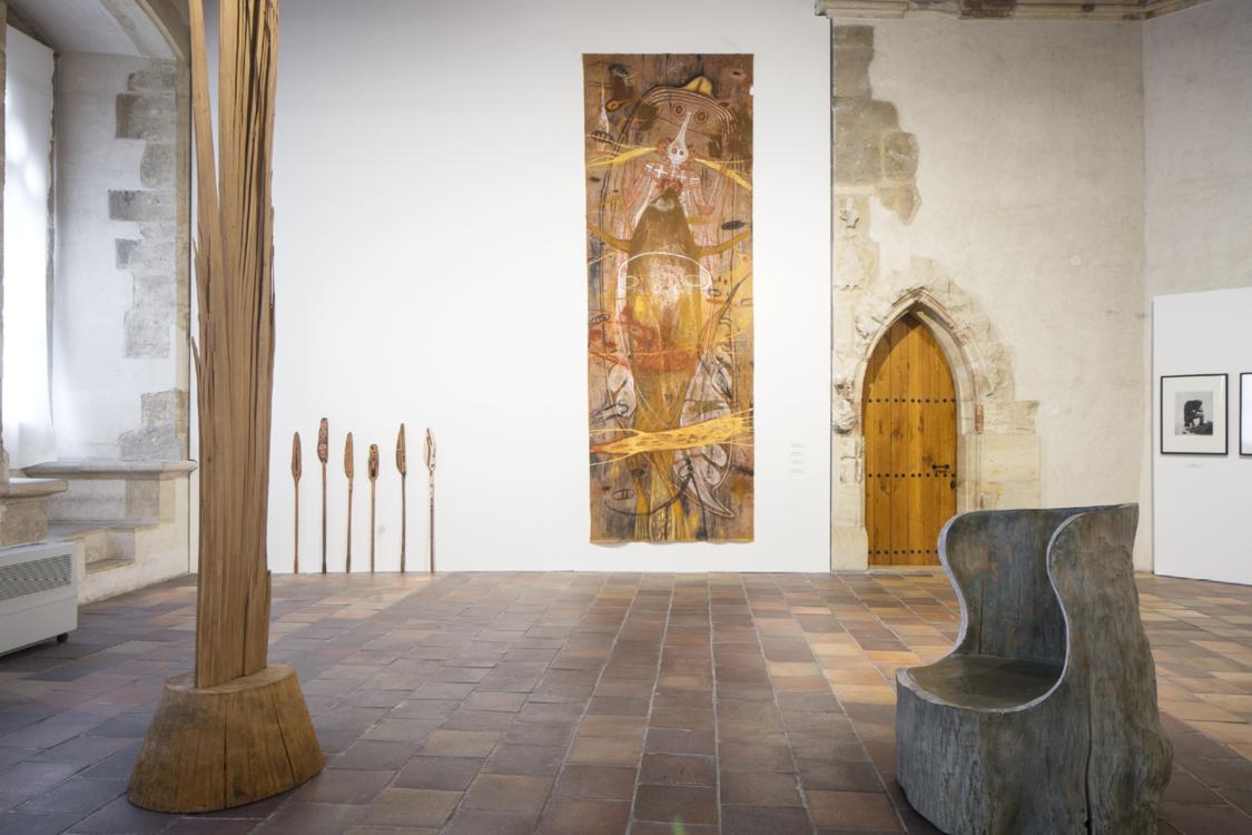 view to the exhibition of František Skála and Other Works, Stone Bell House, 2021. Photo by Tomáš Souček
