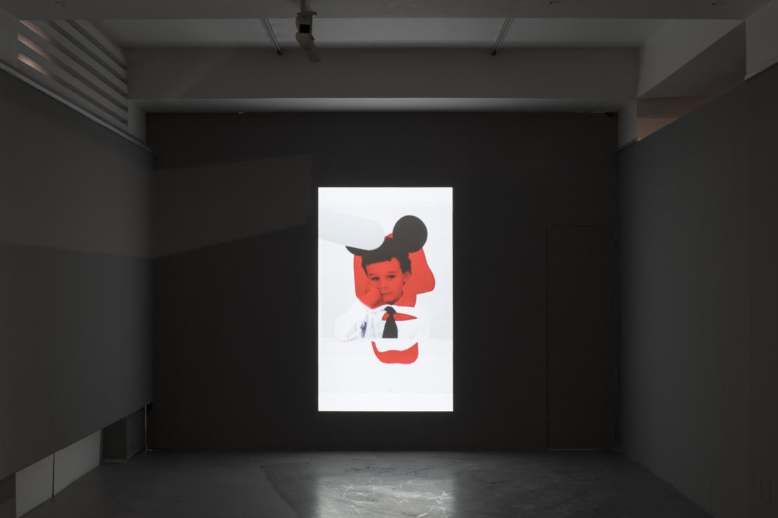 view to the exhibition of Jiří Thýn: Silence, torso, the Present, House of Photography, 2021. Photo by Tomáš Souček