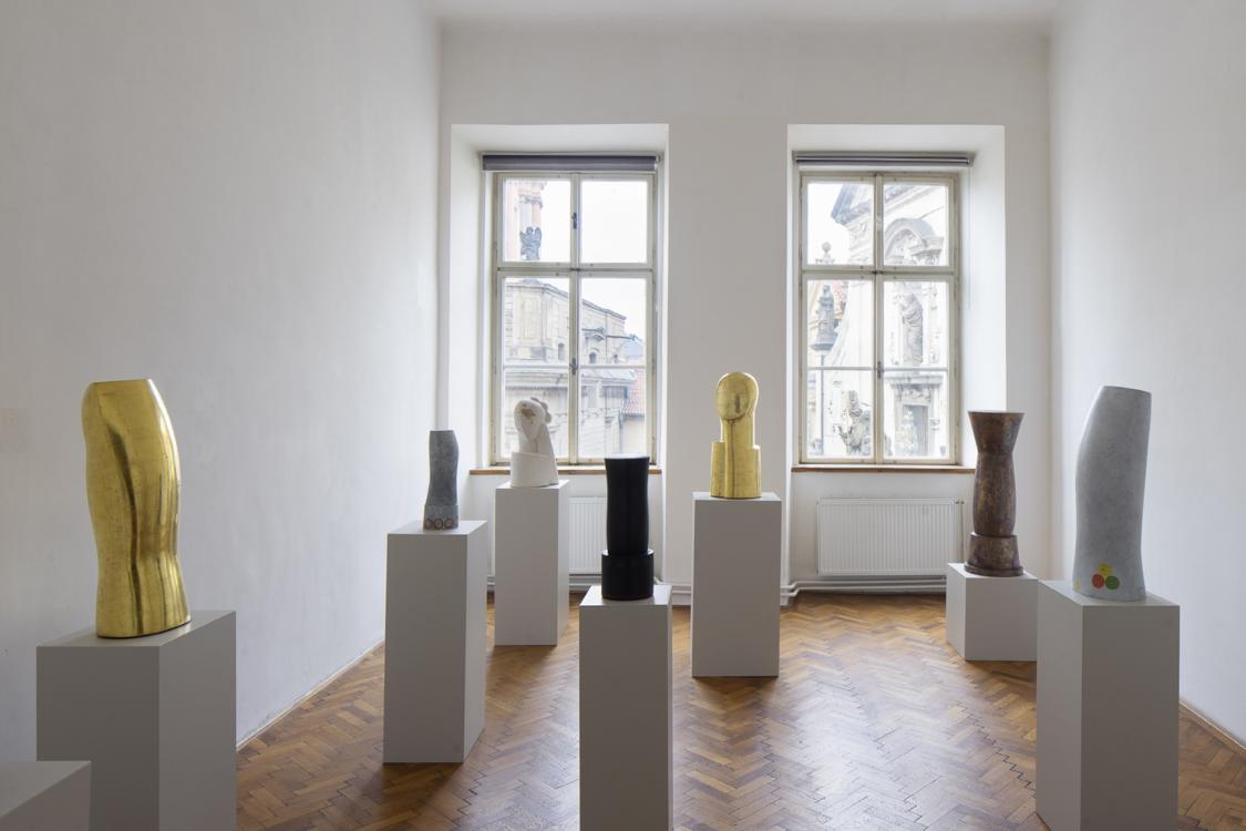 pohled do výstavy Monika Immrová: Tříbení, Colloredo-Mansfeldský palác, 2020. Foto Tomáš Souček