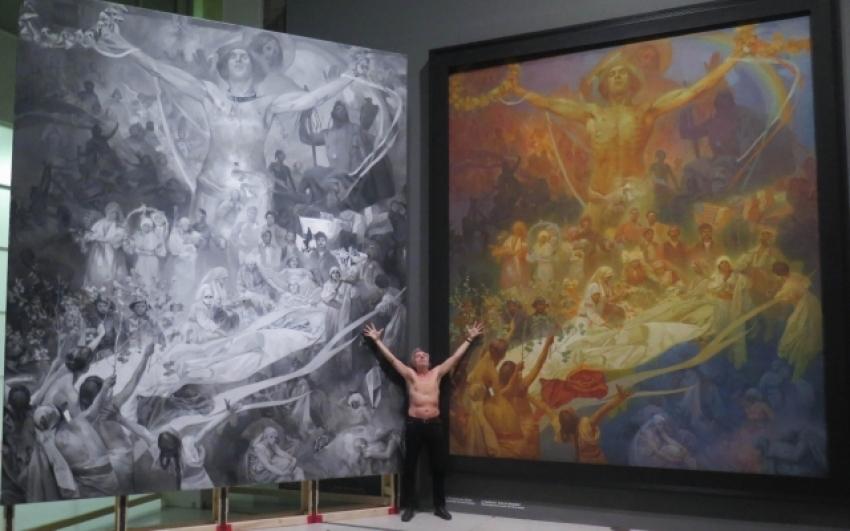 Jiří David, Apoteóza – fragment instalace 56. bienále v Benátkách, 2015