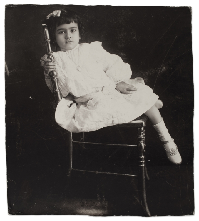 Frida at the age of 5, Anonymous, 1912 © Frida Kahlo Museum
