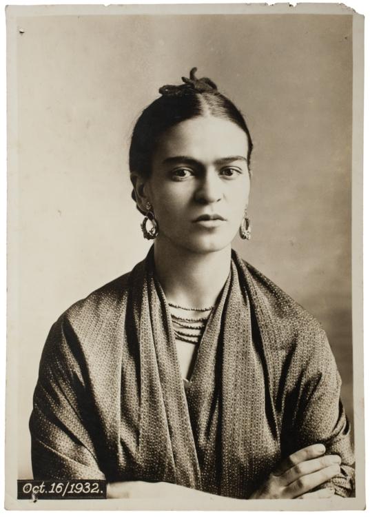 Frida Kahlo, by Guillermo Kahlo, 1932 © Frida Kahlo Museum