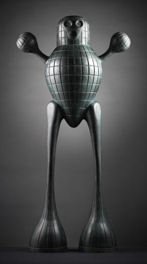 Jaroslav Róna, Domácí robot, 2004, bronz
