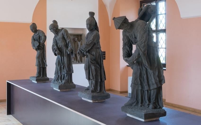 Kámen, štuk a terakota –Sochařská díla z pražských zahrad