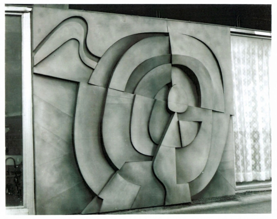 Jaroslav Bartoš, Ražení tunelu metra, 1982, Administrativní budova Vojenských staveb, Boženy Němcové, Praha 2