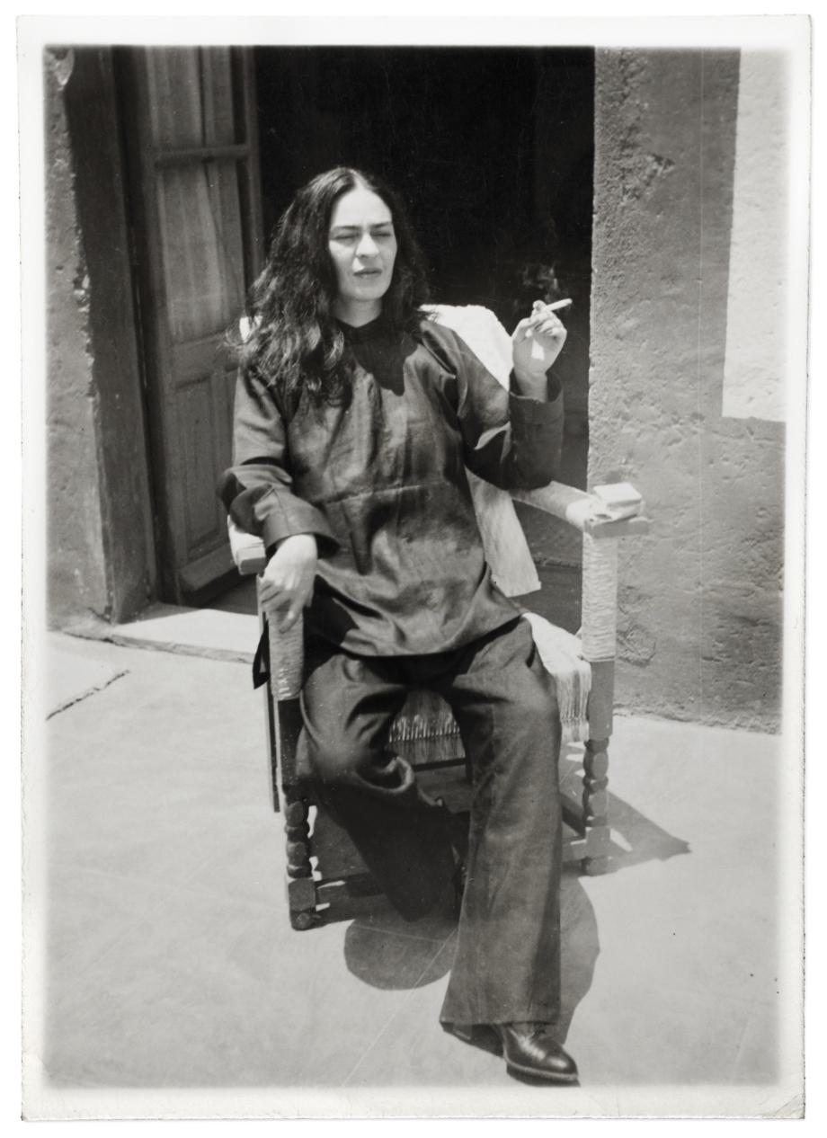 Frida Kahlo po operaci, Antonio Kahlo, 1946. © Muzeum Fridy Kahlo