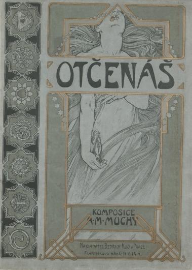 Alfons Mucha, Otčenáš, litografie