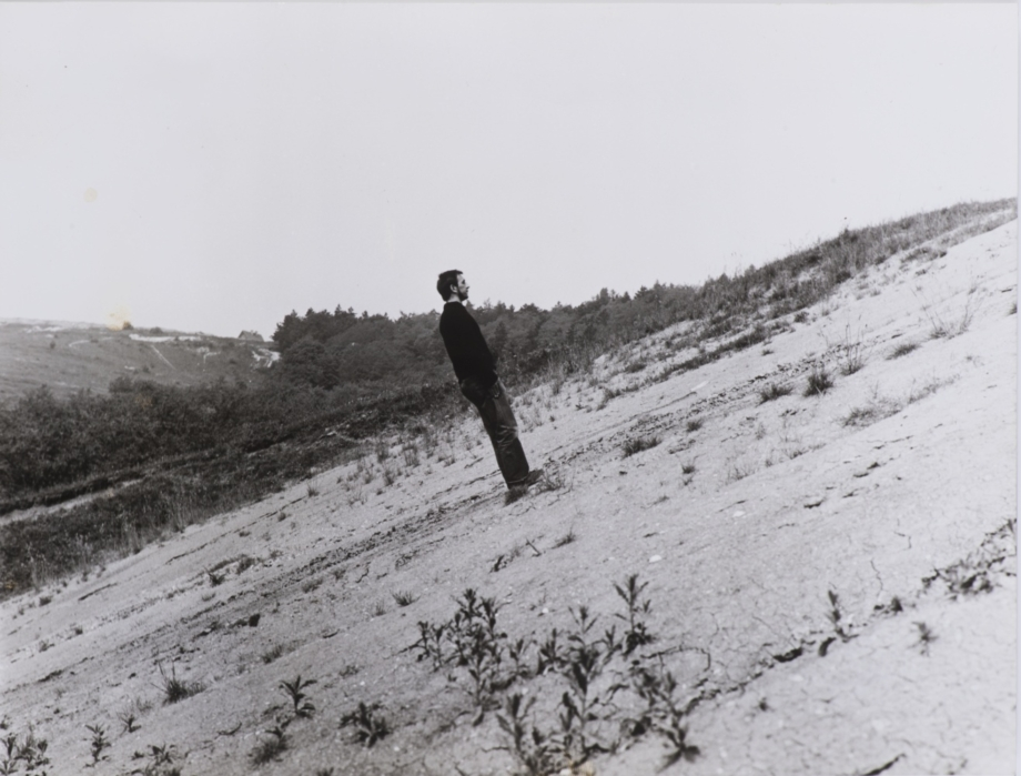 Karel Miler, The Vertical, 1973, fotografie, papír, 18×24 cm