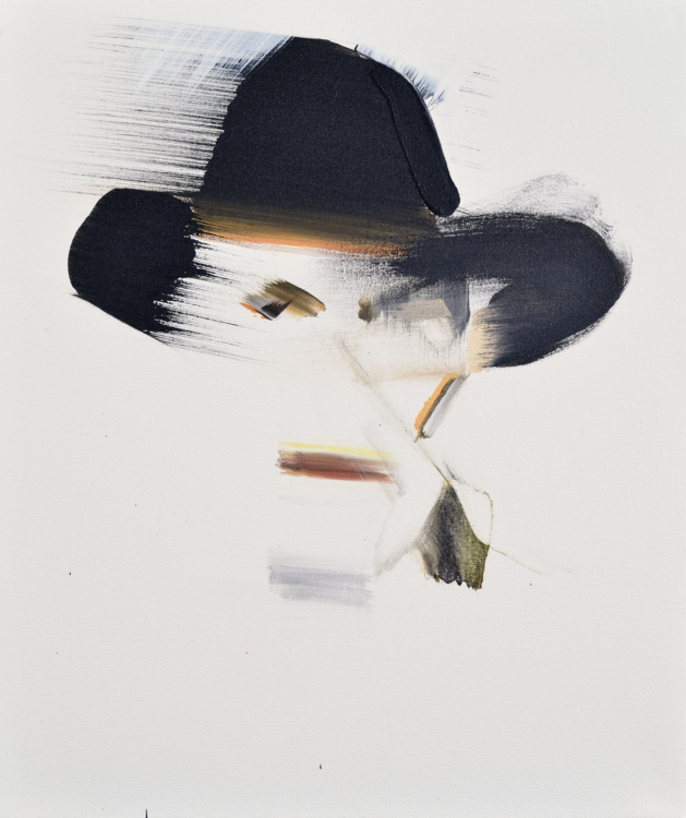 Patricie Fexová, Features, 2013–2016, acrylic on canvas, 50×42 cm