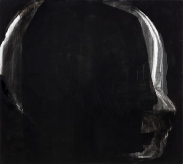 Josef Žáček, č. E947645, 2016, olej na plátně, 170×190 cm