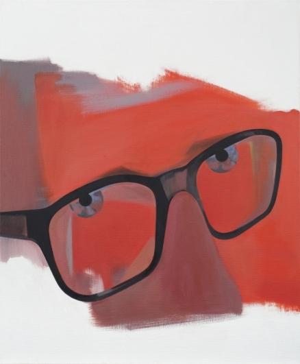 Jan Merta, Na účet OÚNZu, 2015–2016, olej na plátně, 110×90 cm