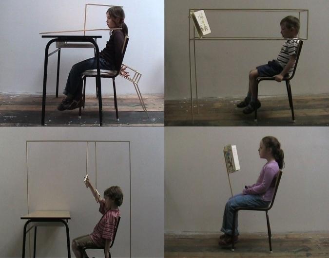 Eva Koťátková, Sit Up Straight, 2008