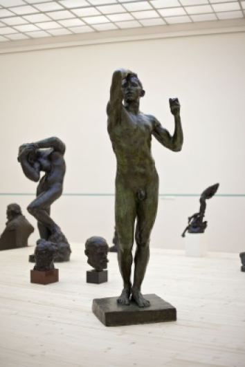 Auguste Rodin, The Age of Bronze, 1876, Prague City Gallery