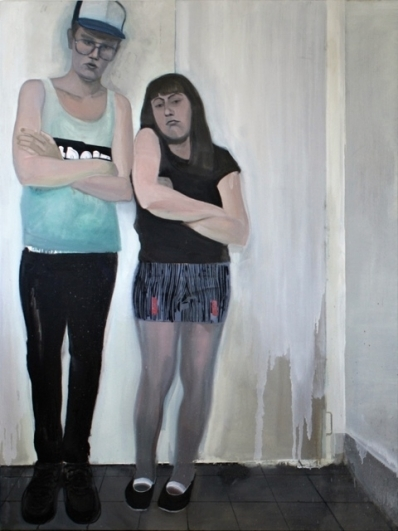 Michal Drozen, Together in the Hallway, 2014