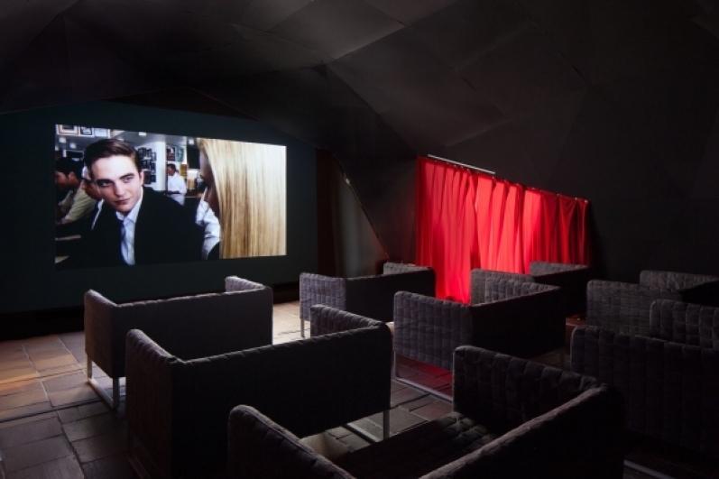 cinema in the David Cronenberg: Evolution exhibition
