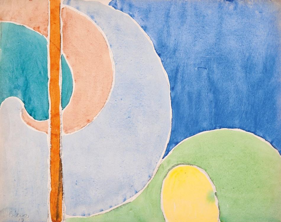 Arne Hošek, Tá – Turá (ze sbírky slovenských lidových písní), 1932. Galerie hlavního města Prahy