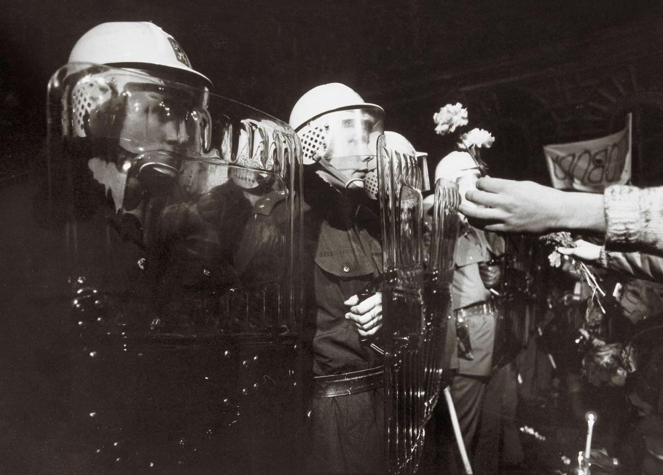 Pavel Štěcha, 17. listopadu 1989, Praha