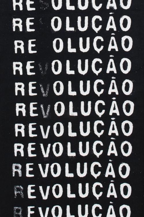 António Barros, Revoluce, 1977, Col. Fundação de Serralves – Museu de Arte Contemporânea, Porto. Foto: Tomáš Souček