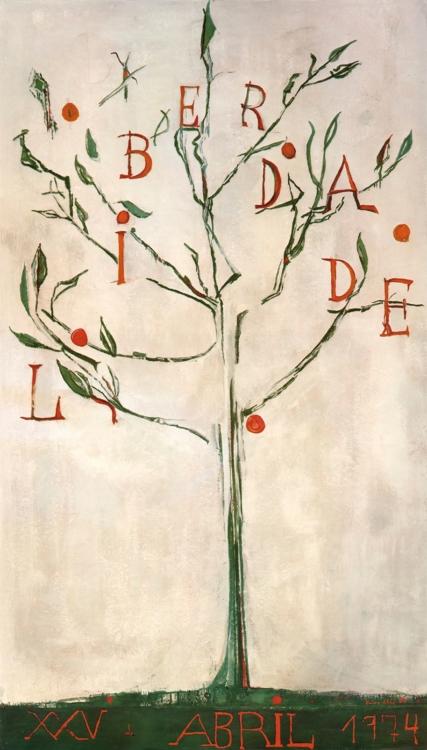 Maria Helena Vieira da Silva, The Tree of Liberty, 1974–1975, Colecção MNAC. Ex-Col. SEC- Casa Morgados da Pedricosa