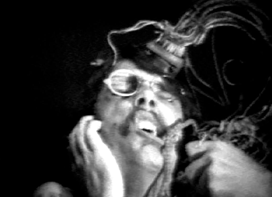 Woody Vasulka, Thierry, 1970, video, 2 min., Prague City Gallery