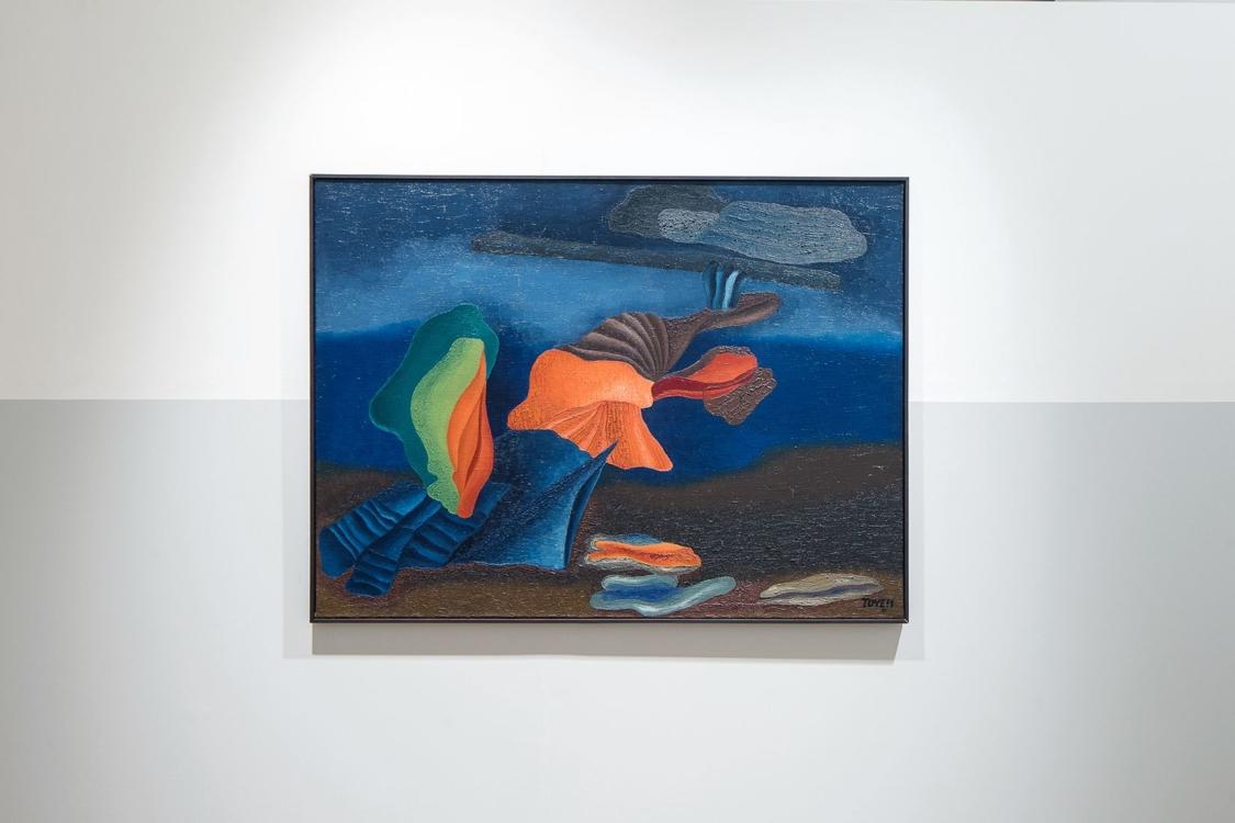 Toyen, Night in Oceania, 1931, Regional Gallery of Fine Arts in Zlín