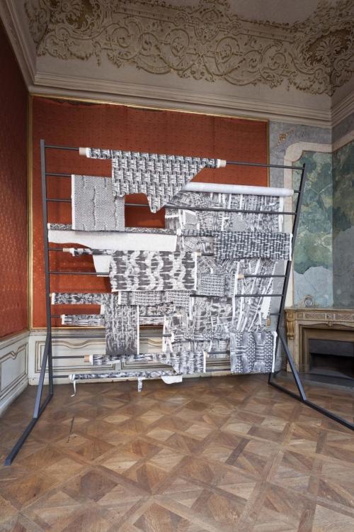 pohled do výstavy Roman Štětina: Předmluva, Colloredo-Mansfeldský palác, piano nobile, 2018. Foto Jiří Thýn