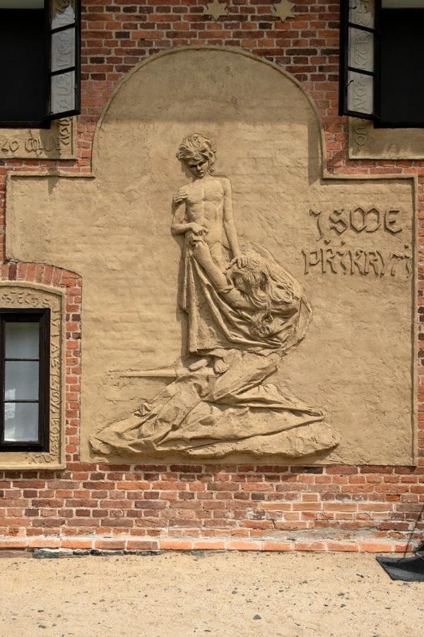 Dům Františka Bílka v Chýnově. Foto Oto Palán