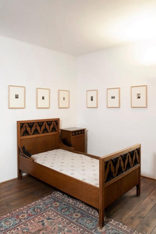 Dům Františka Bílka v Chýnově – interiér. Foto Oto Palán