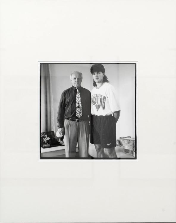 view to the exhibition Jiří Hanke: Photographs 1973–2018, House of Photography, 2019. Photo by Tomáš Souček
