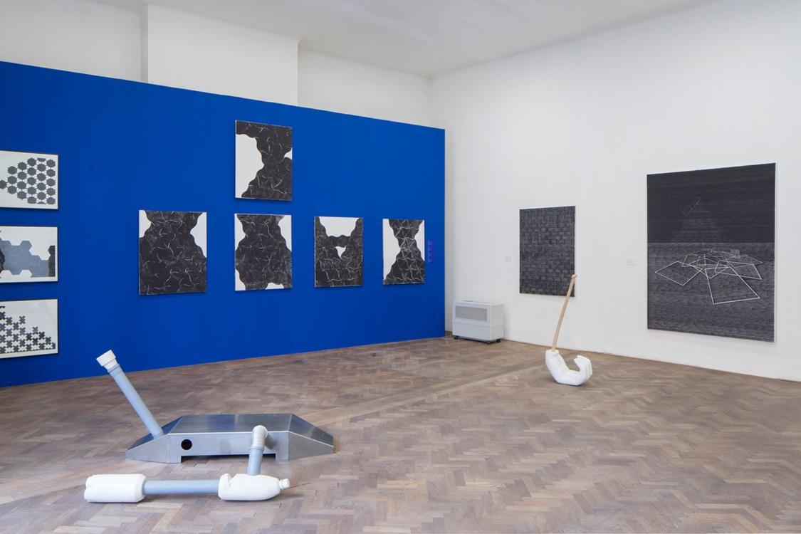 pohled do výstavy Michaela Vélová Maupicová (1982–2018), Colloredo-Mansfeldský palác, 2019. Foto Tomáš Souček