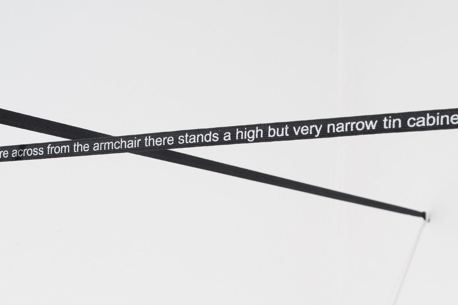 pohled do výstavy Sonda 1 – Příběh slovenského (post)konceptuálního umění, Dům U Kamenného zvonu, 2019. Foto Tomáš Souček