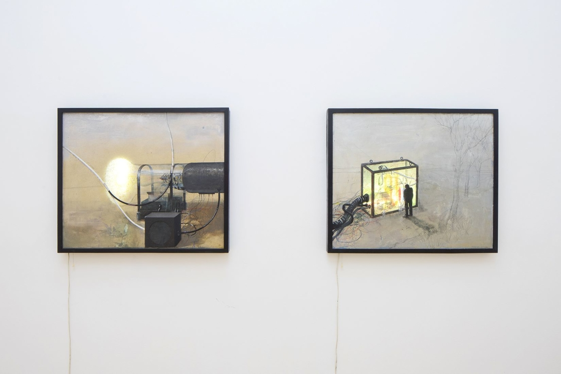 view to the exhibition of Bedřich Dlouhý: What I Like exhitibion. Municipal Library, 2nd floor, 2019. Photo by Tomáš Souček