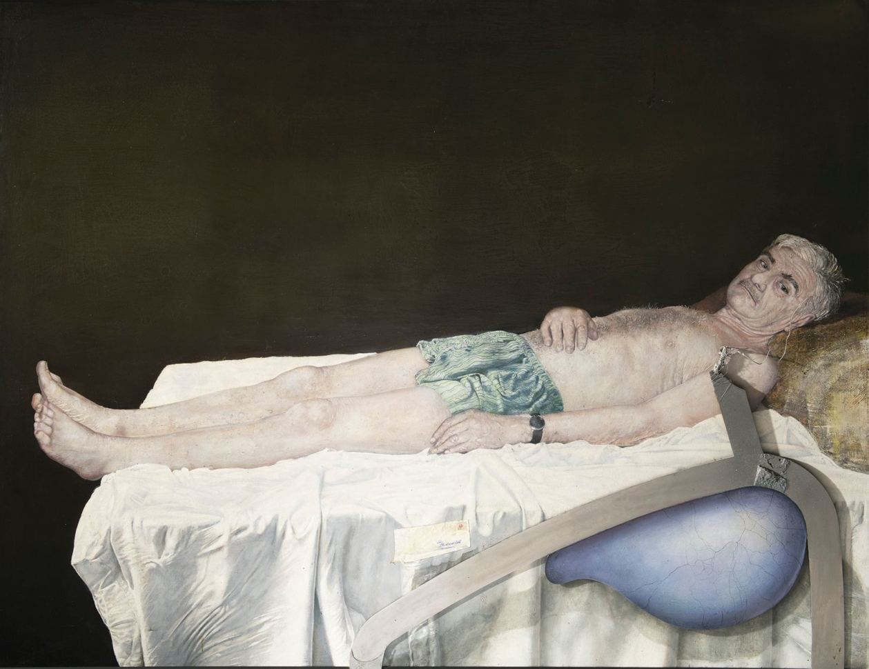Bedřich Dlouhý, Self-Portrait III, 2008, private collection