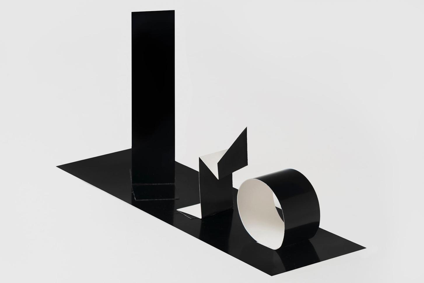 Květa Pacovská, Paper Sculpture, Black and White, 1970s