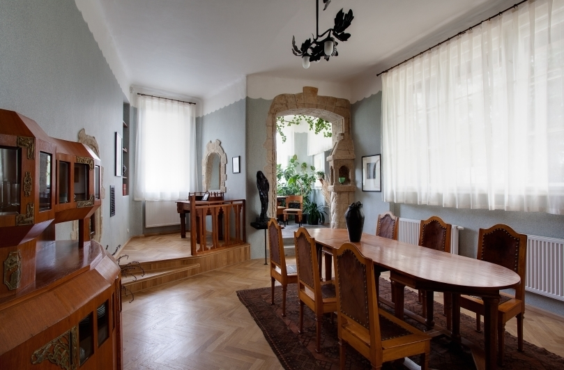 Bílkova vila – interiér. Foto Tomáš Souček