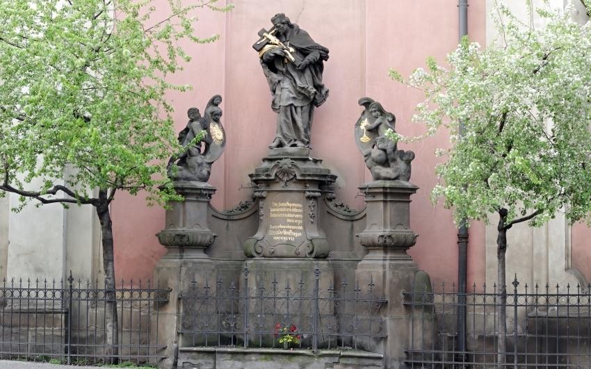 Ignác František Platzer: Sv. Jan Nepomucký, 1747