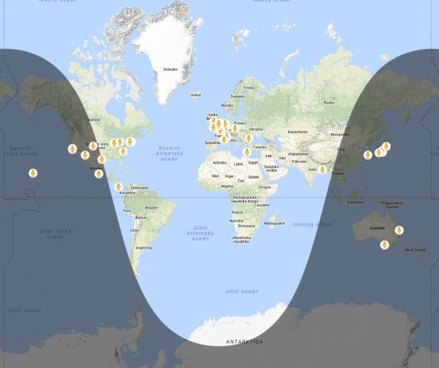 Locusonus map