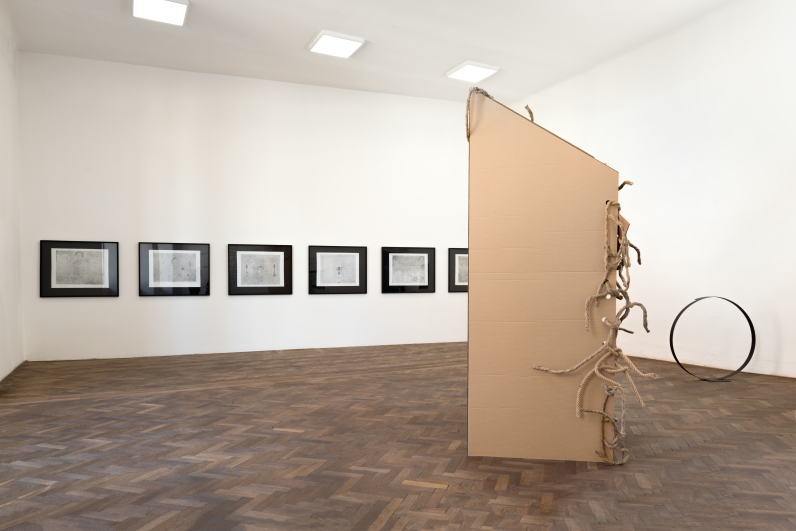 z výstavy Květa Pacovská: Utíkejte na konec, Colloredo-Mansfeldský palác, 2019