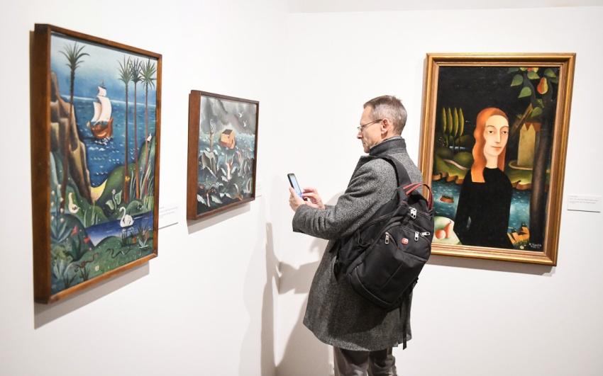 z vernisáže výstavy Devětsil 1920–1931