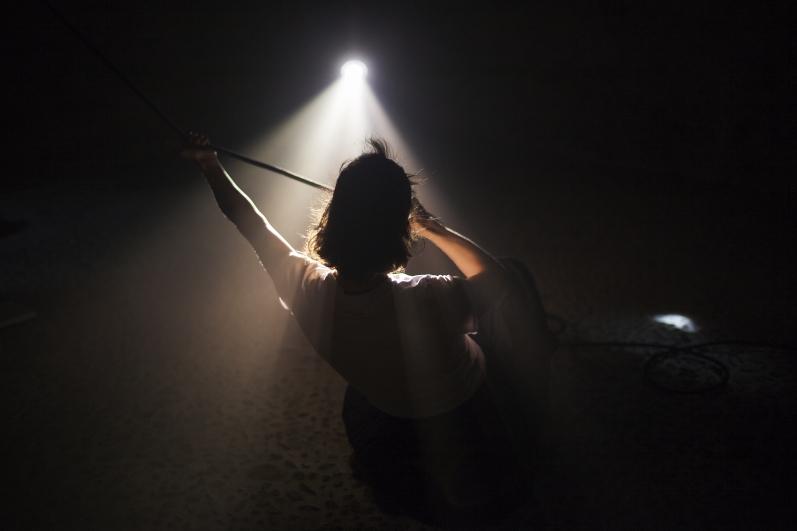 Light Underground, Tanzometr, foto Jiří Thýn.