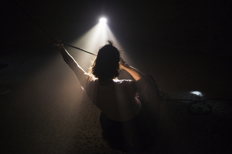 Light Underground, Tanzometr, photo by Jiří Thýn.