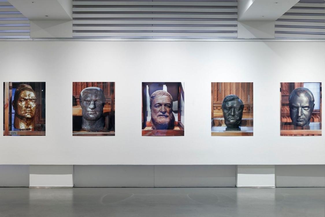 pohled do výstavy J/P/K Jasanský Polák Karny, Dům fotografie, 2020. Foto Tomáš Souček