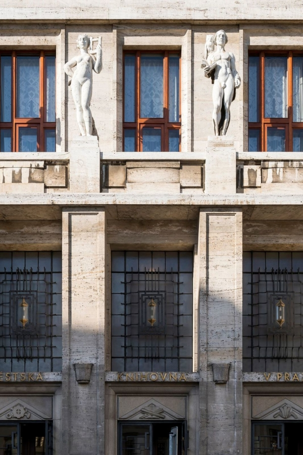 Municipal Library of Prague. Photo by Studio Flusser