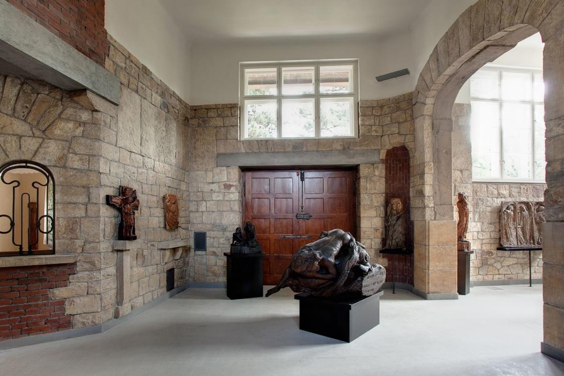 Villa Bílek – interior. Photo by Tomáš Souček