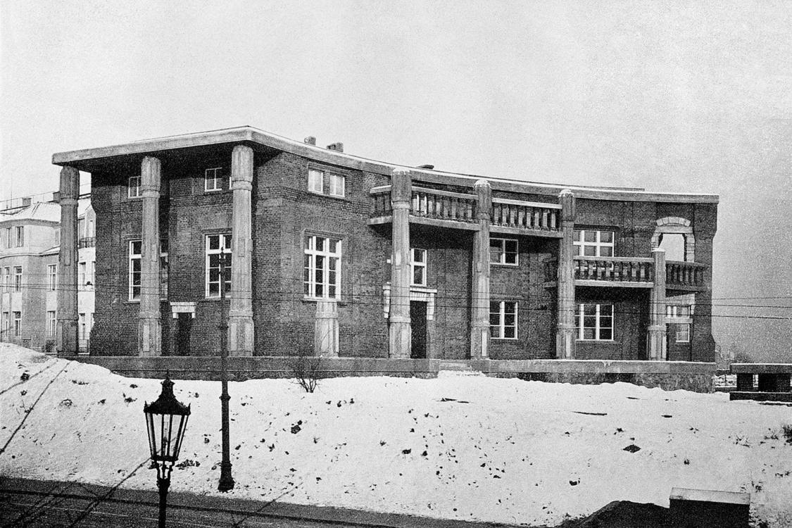 Villa Bílek. Photo by Der Architekt, 1912