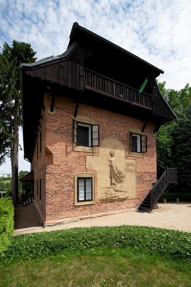 František Bílek's House in Chýnov. Photo by Oto Palán