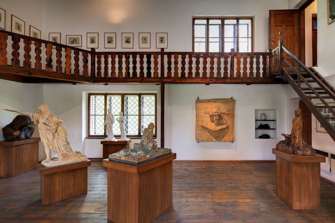 František Bílek's House in Chýnov – interior. Photo by Oto Palán