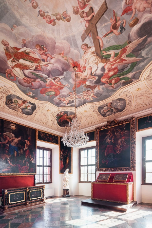 Troja Château – interior. Photo by Tomáš Souček